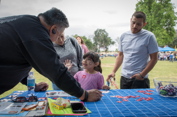 A bright young Downey resident makes the promise to stay away from gangs.