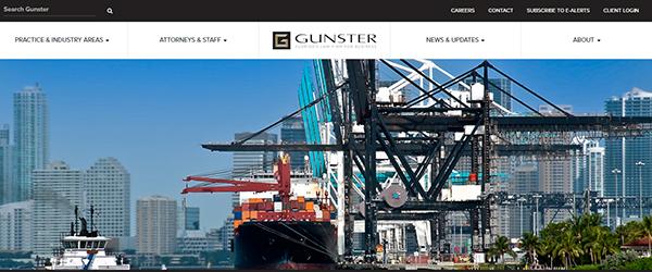 Gunster Website