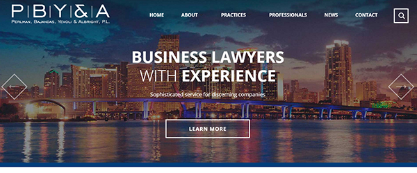 PBY&A Law Website