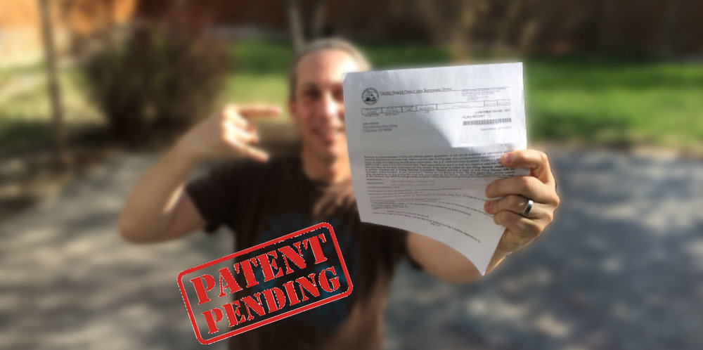 OUR OFFICIAL PAPERWORK FROM THE USPTO!