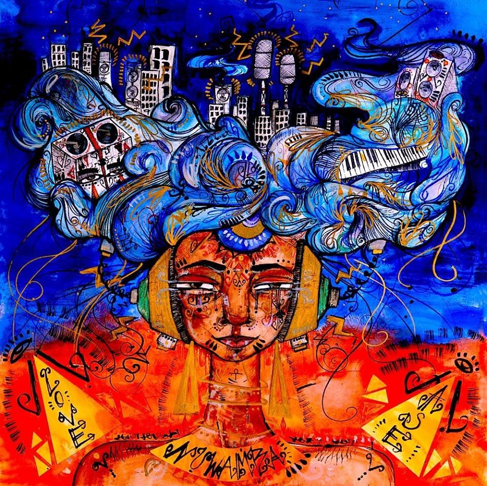 NUWAMBA Commissioned Album Cover.