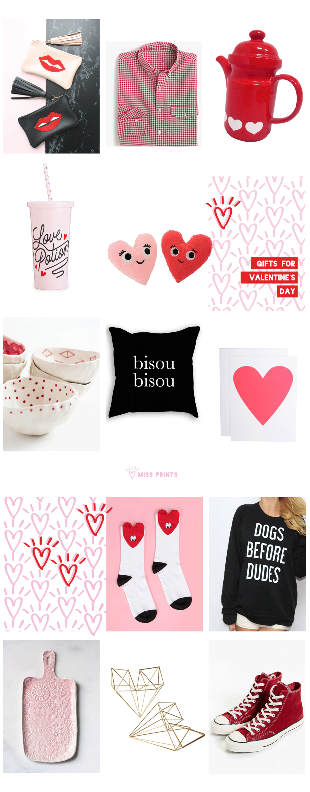 valentine's day gift guide | @themissprints