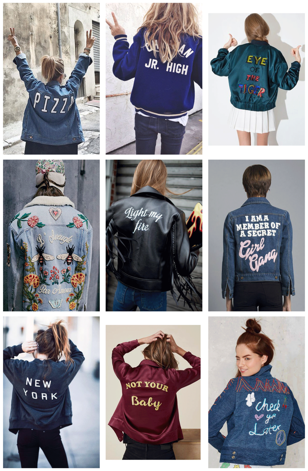 jackets with words roundup | @themissprints