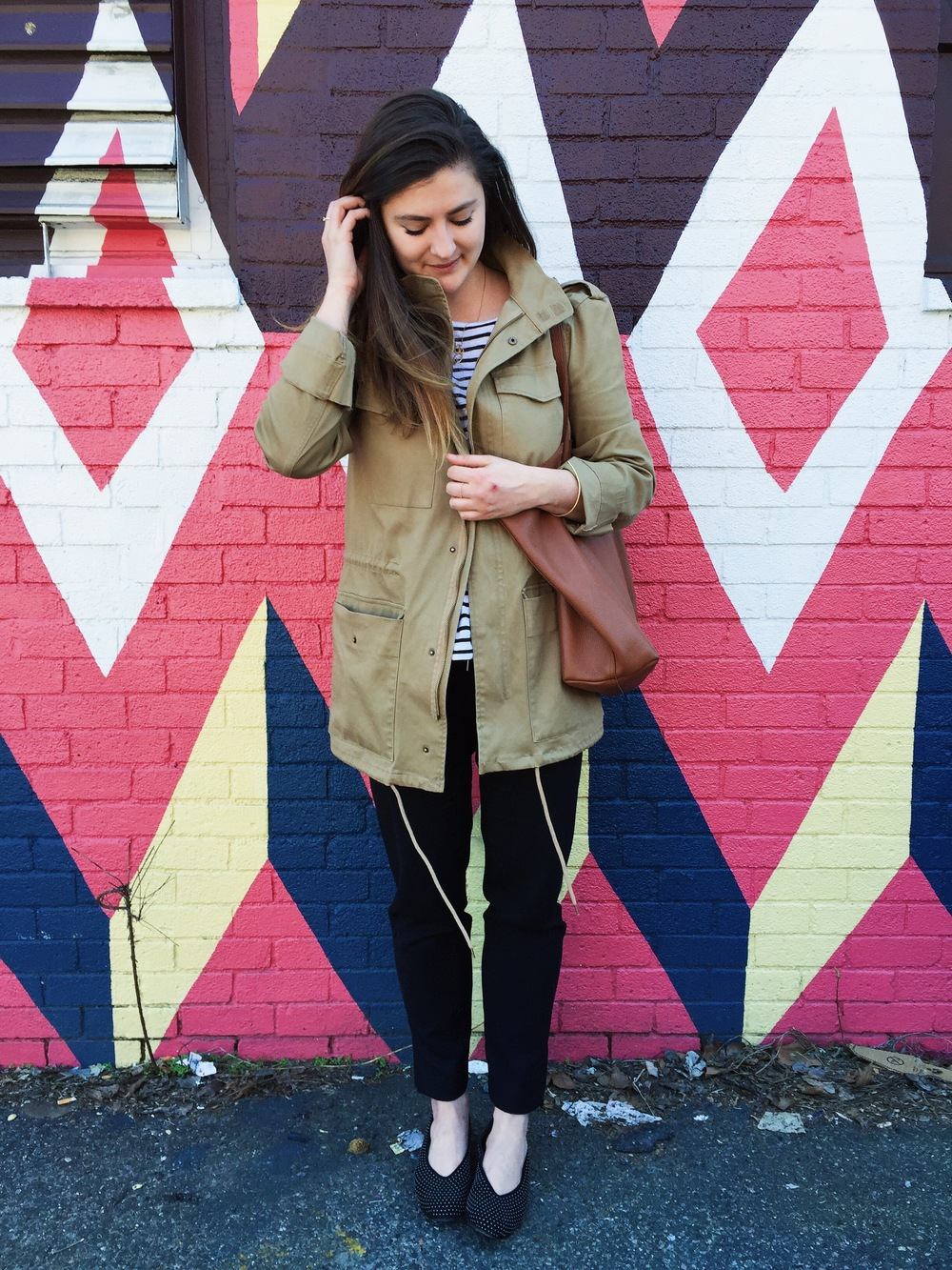 forever 21 utility jacket | @themissprints