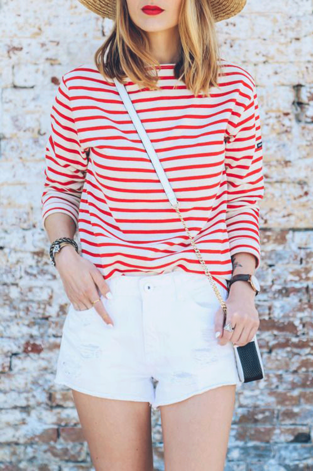 one week of summer stripes | @themissprints
