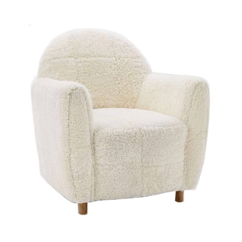 SHEARLING CHAIR*