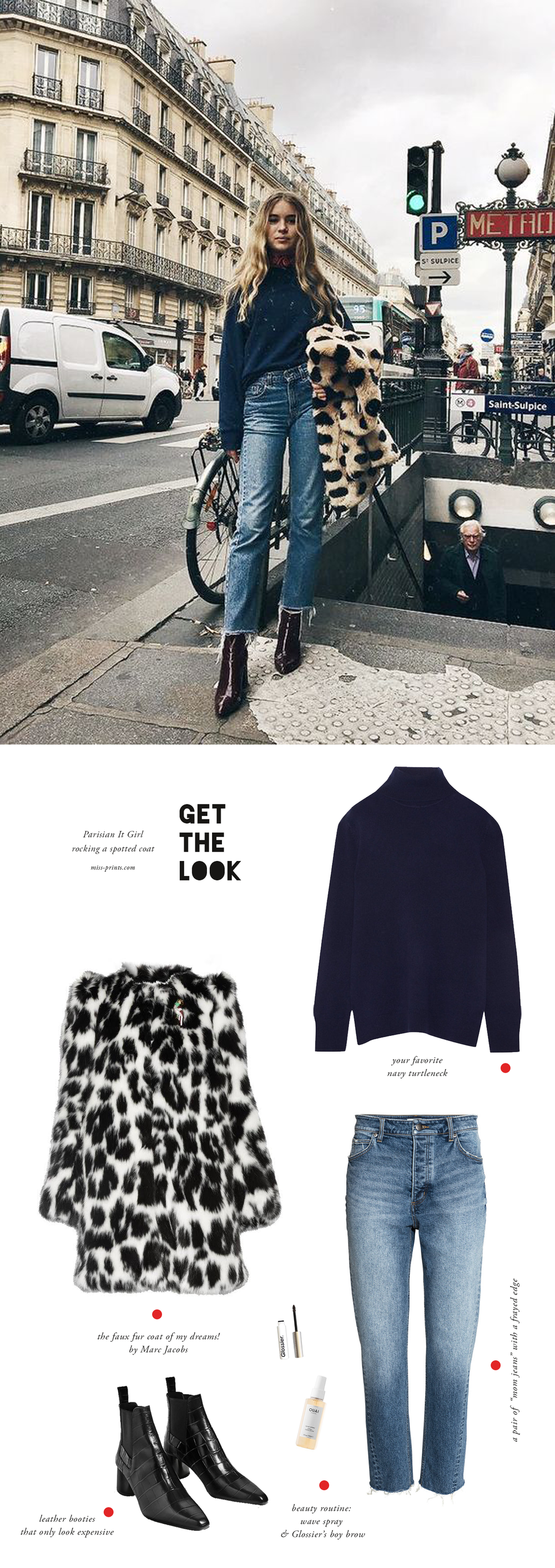 get the look / Parisian It Girl
