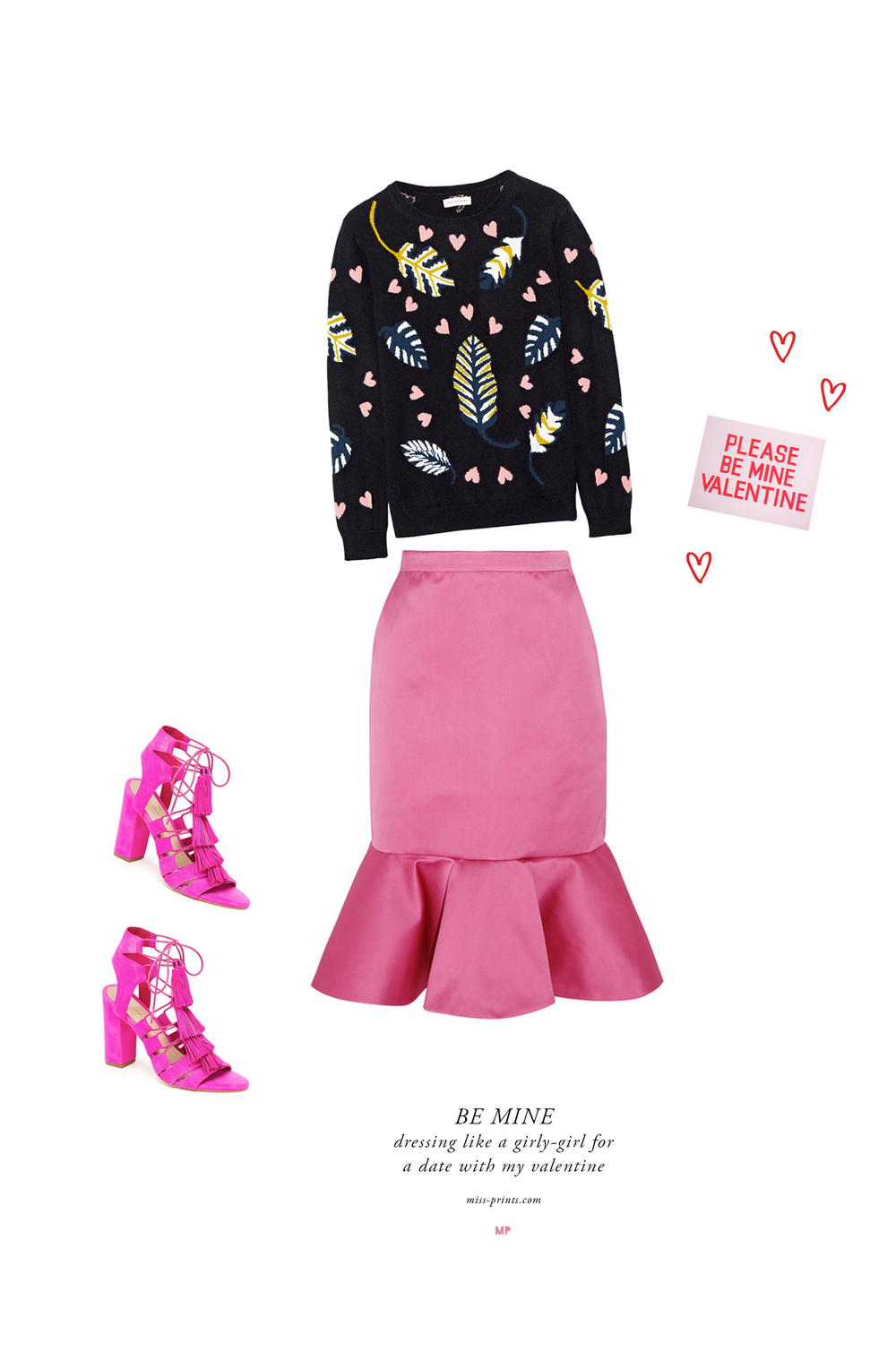 valentine's day outfit @themissprints