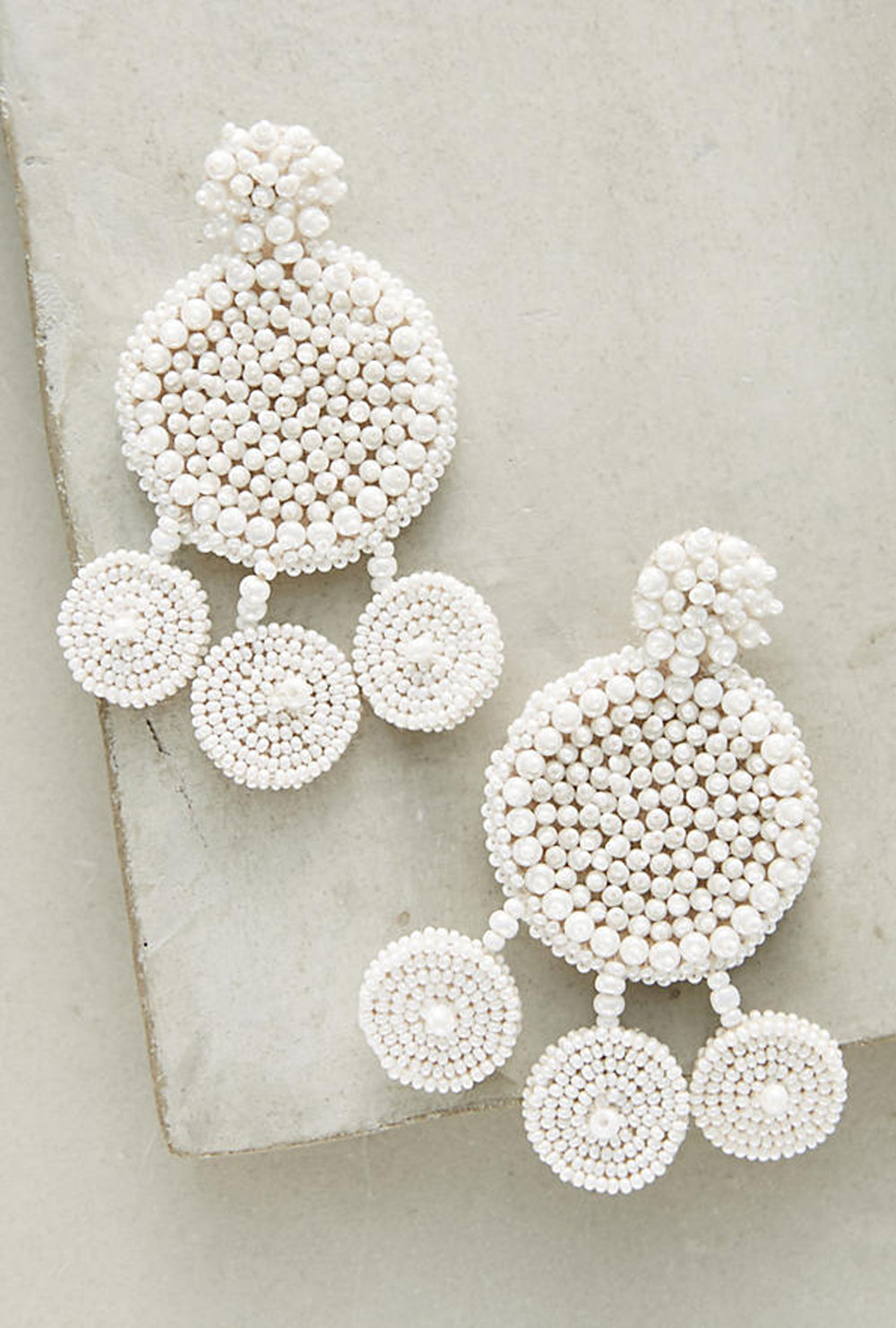 beaded earrings | @themissprints