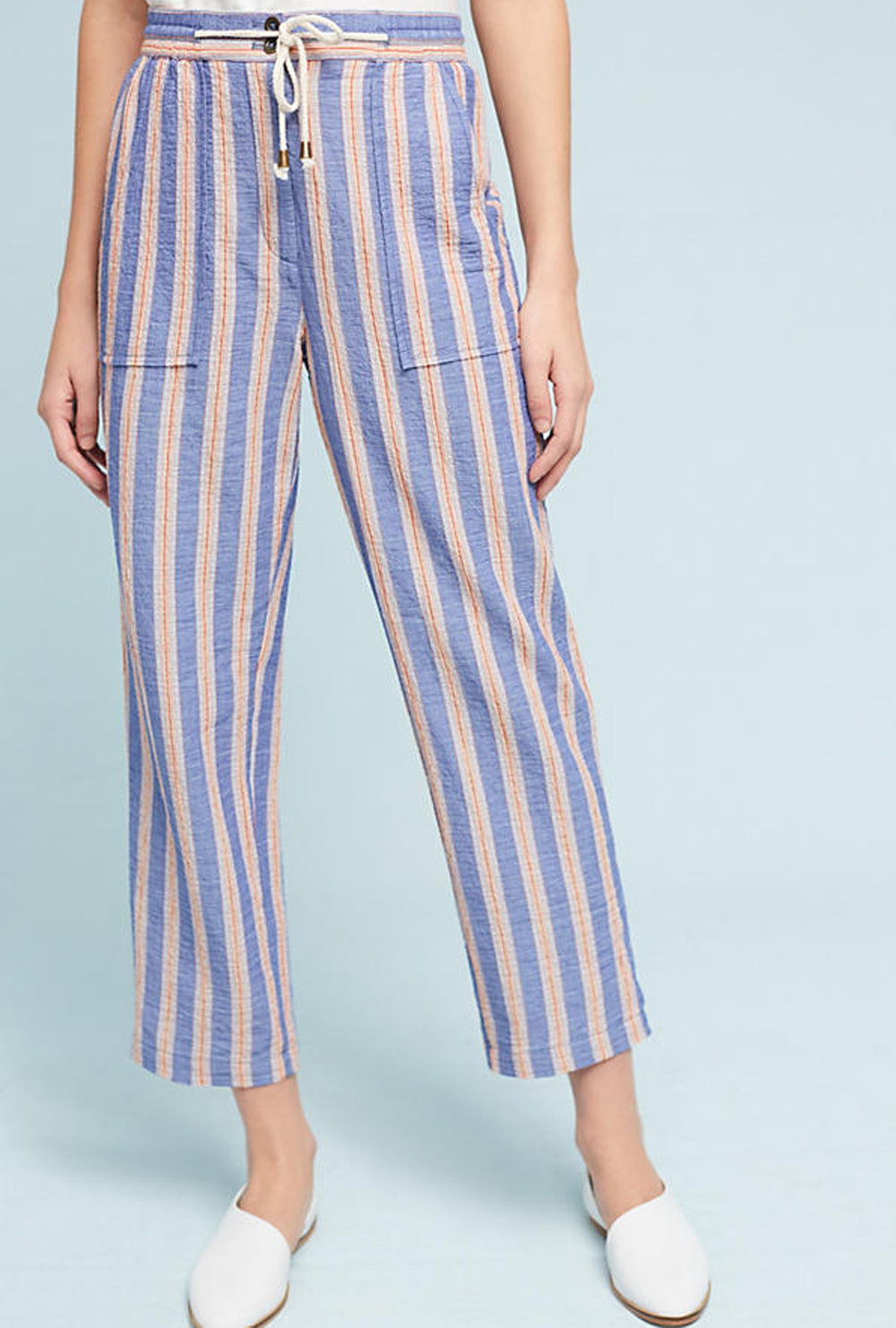striped pants | @themissprints