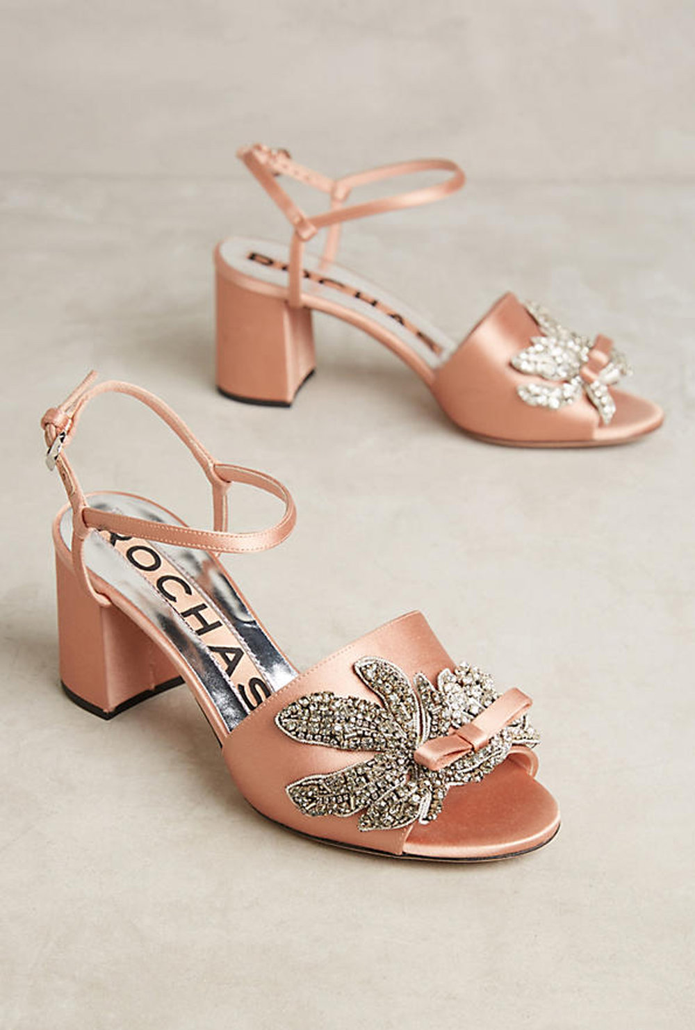 rochas satin sandals | @themissprints