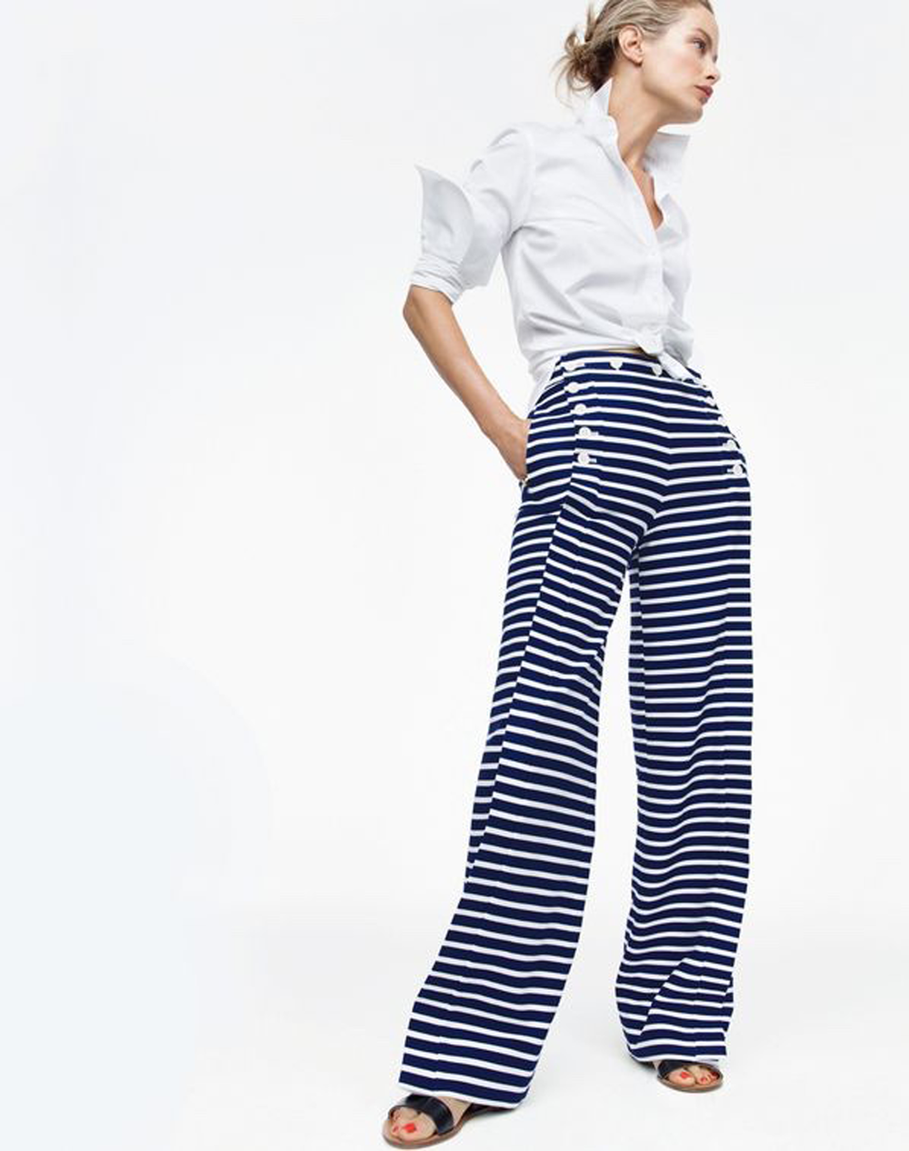 striped pants @themissprints