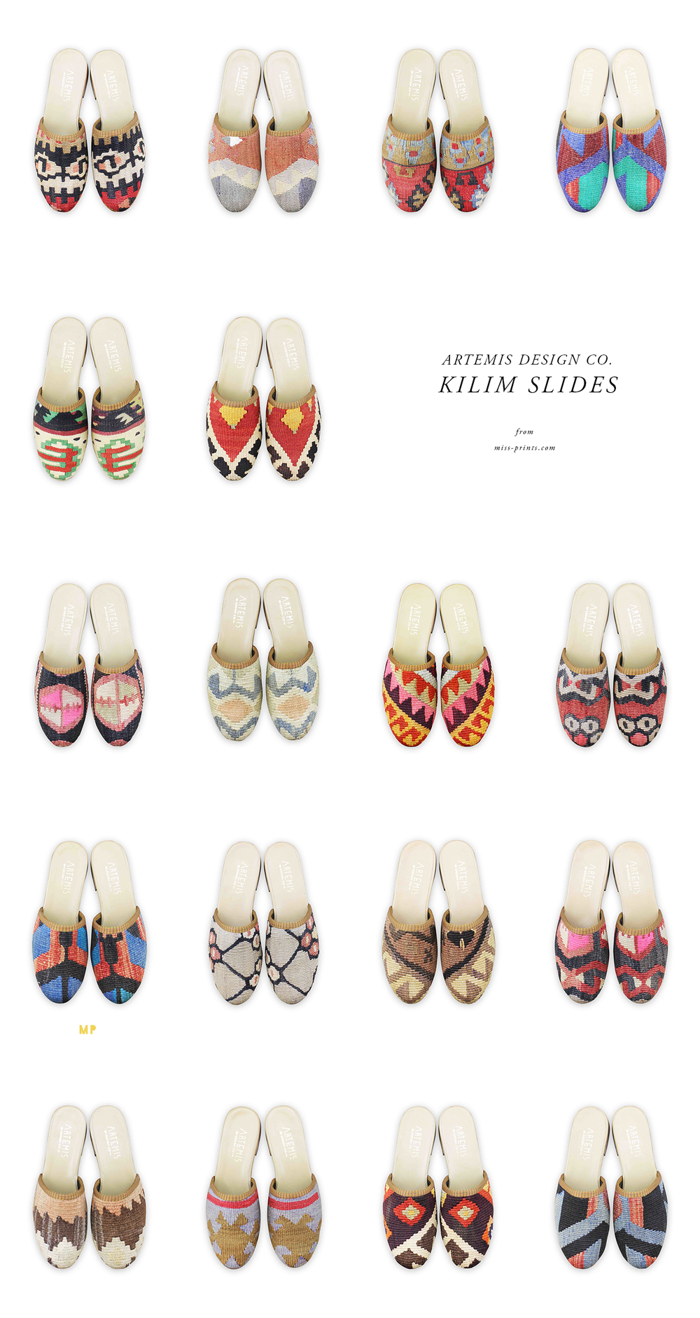artemis design co mules / @themissprints