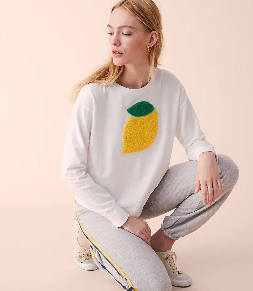 lemon pullover