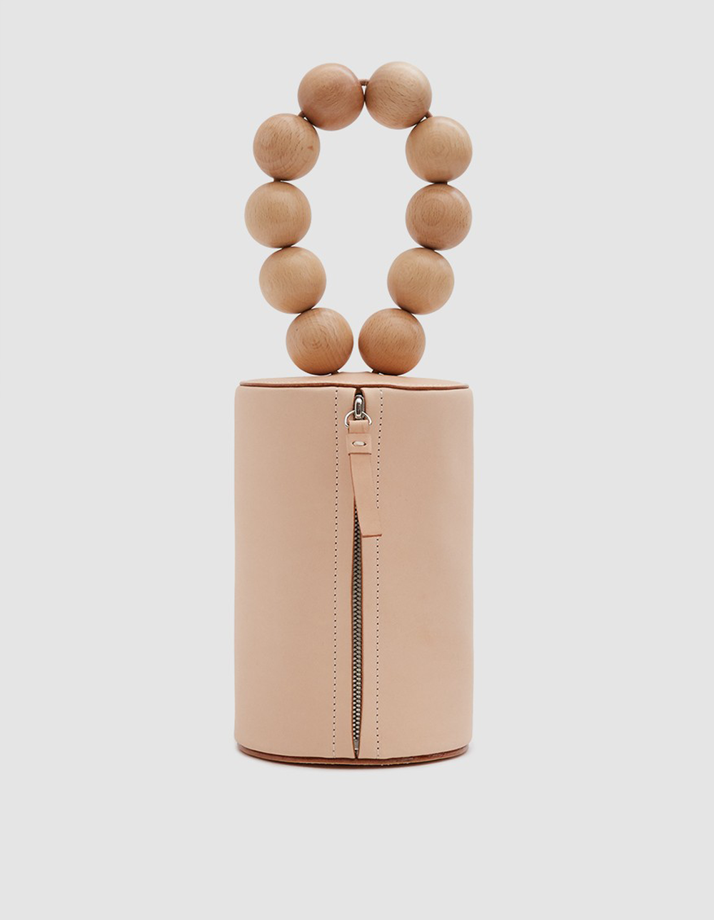 wooden ball clutch | @themissprints