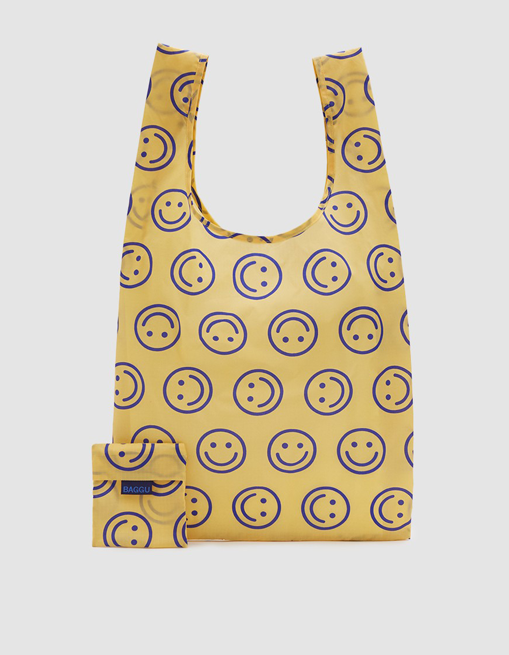 smiley face baggu bag | @themissprints