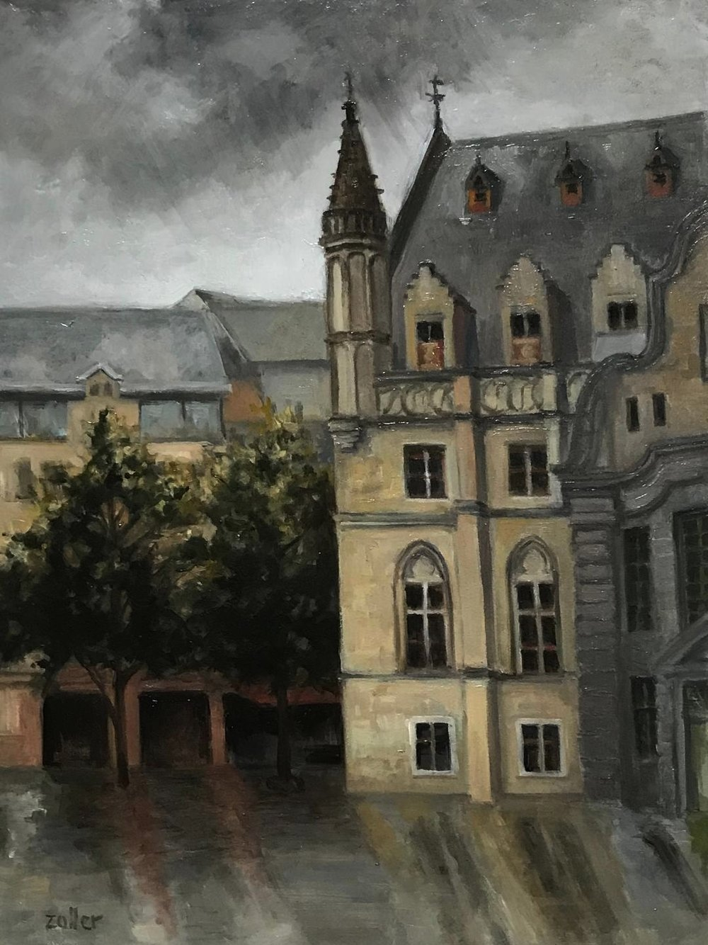 Cloth Hall in Ghent