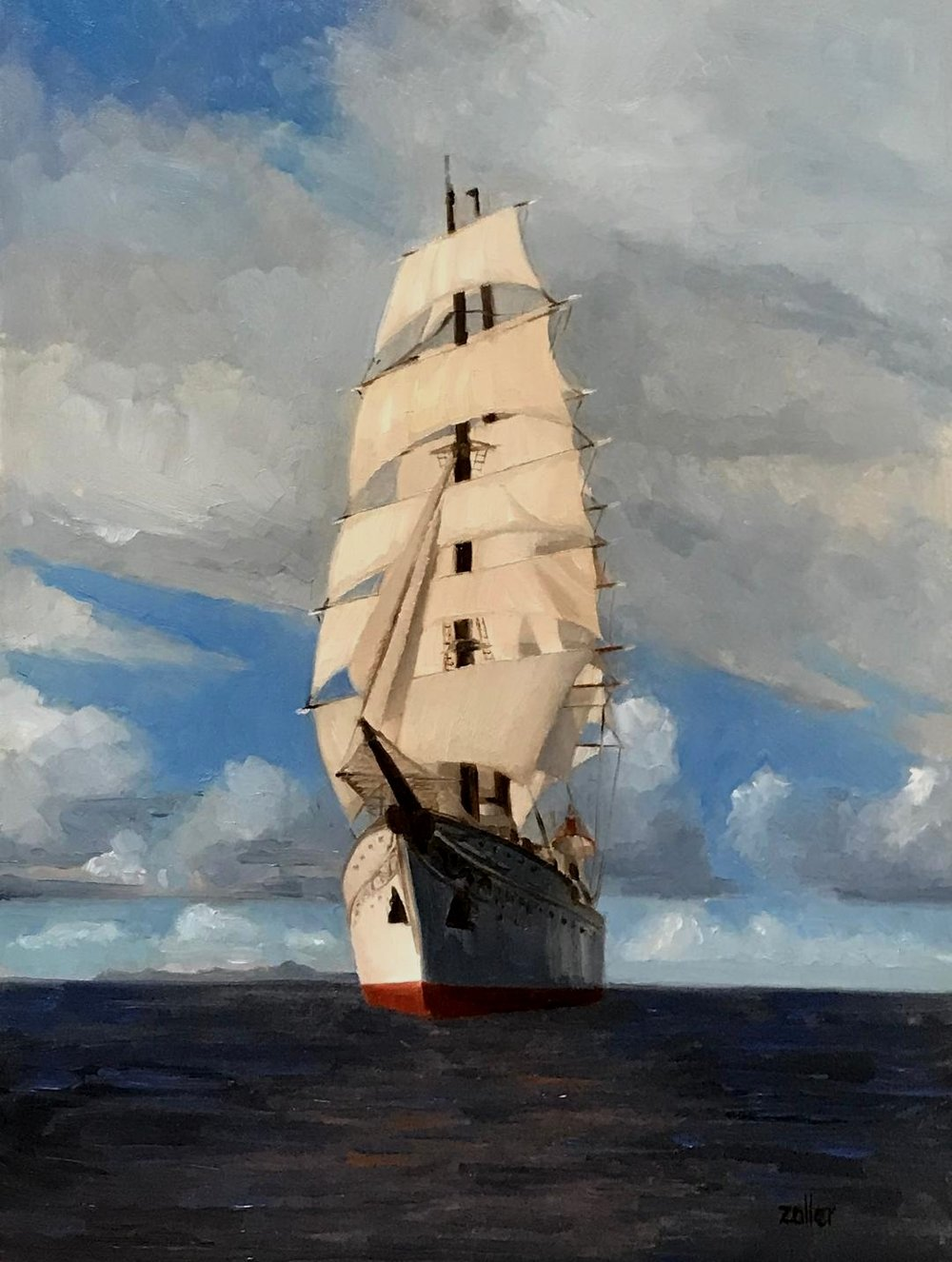 Sea Cloud Windward