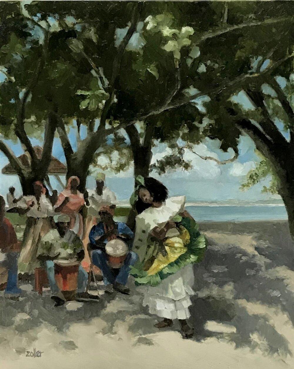 Dancer on Paradise Beach