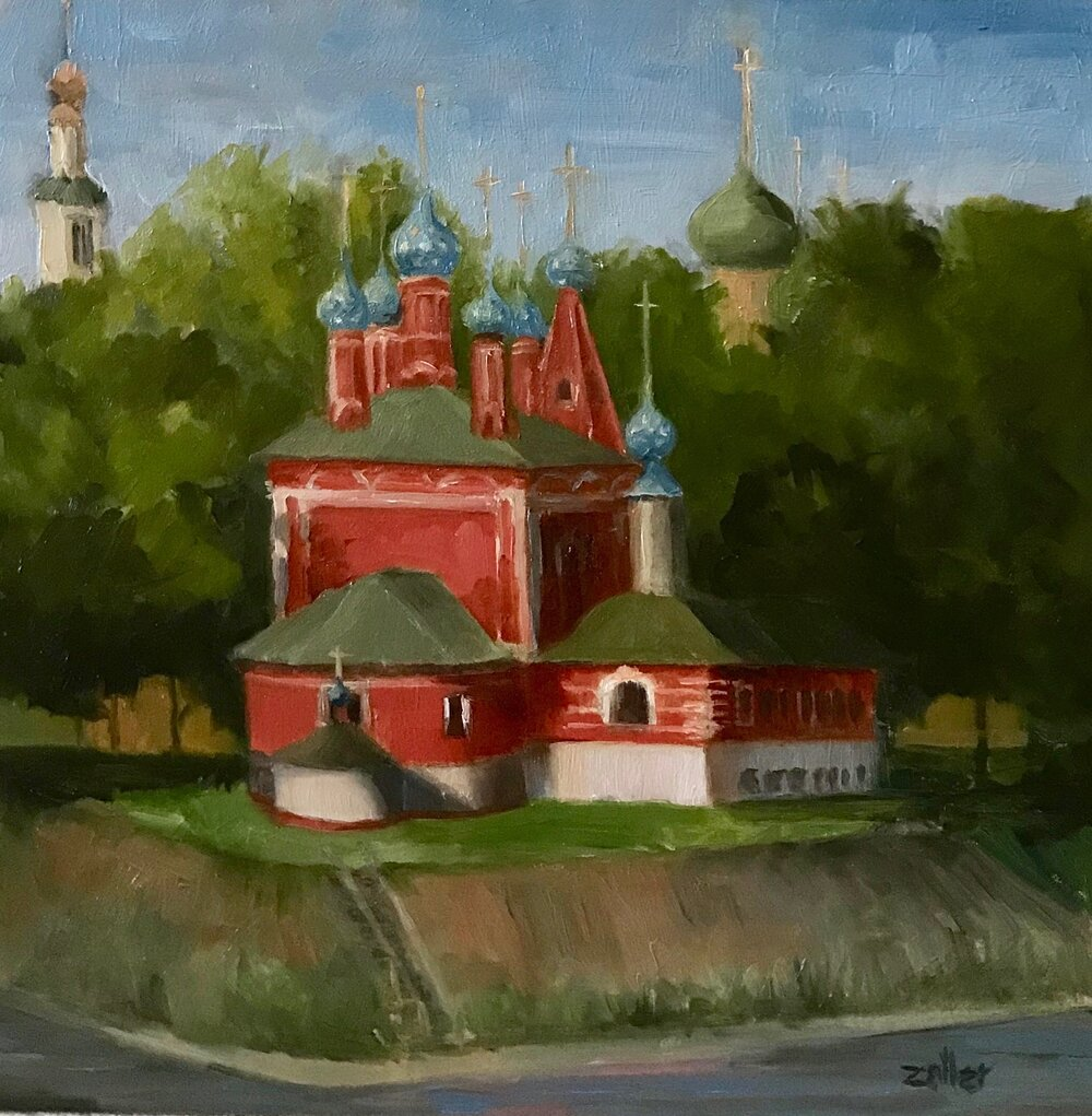 Uglich - Church of St Dmitry
