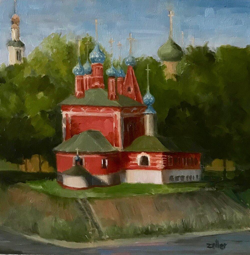 Uglich - Church of St Dmitry