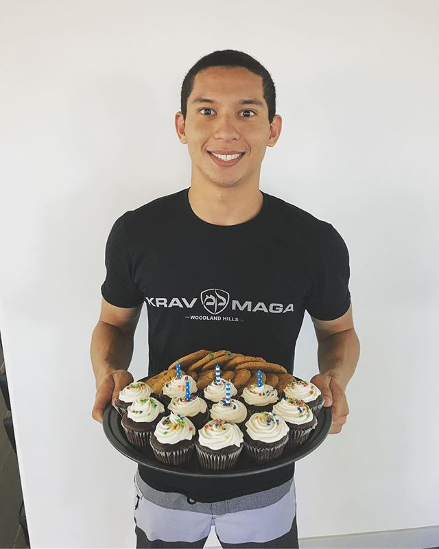 Happy Birthday to our Krav Kids Head Instructor, Karlo!! We're so happy to have you as a part of our KMWH Family. Thank you for leading and guiding the future of Krav Maga Woodland Hills. 👊🏽👊🏽👊🏽