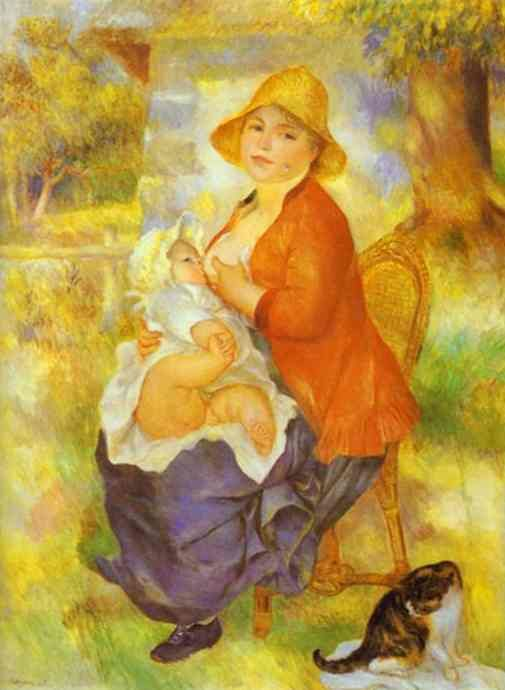 Mme Renoir With Her Son Pierre