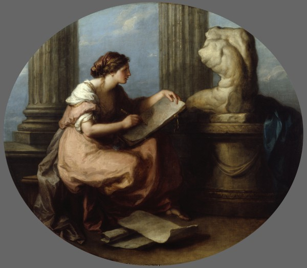 """Design"" by Angelica Kauffman (1741-1807)"