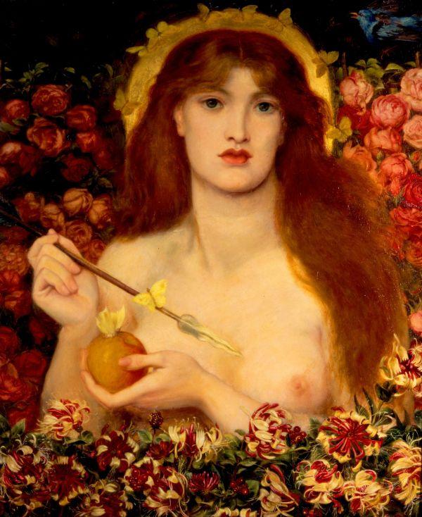 """Venus Verticordia"" by Dante Gabriel Rossetti, 1868"