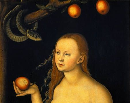 """Eve"" by Lucas Cranach the Elder, 1528"