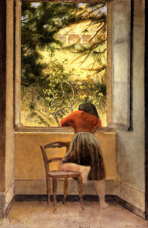 """Girl at the Window"""