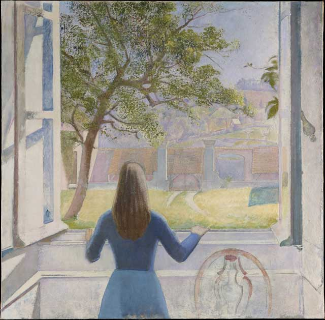 """Girl at Window"""