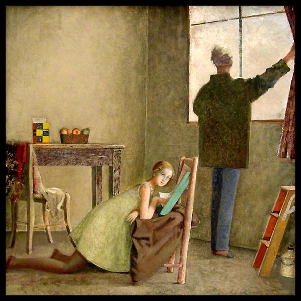 """Painter and his Model"""