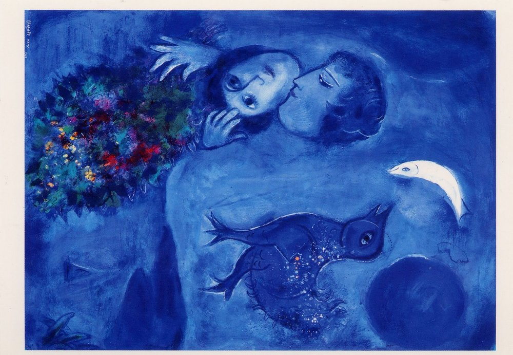 """Le Paysage Bleu"" by Chagall"