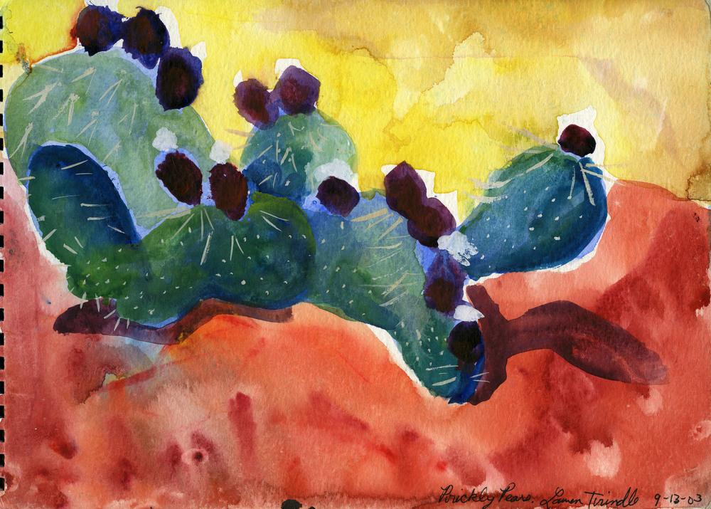 "Sept. 13, 2003 ""Prickly Pear Cactus"""