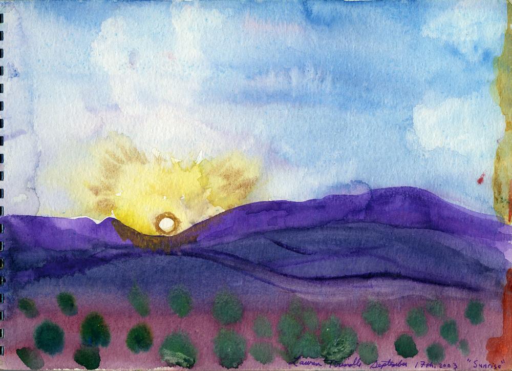 "Sept. 17th, 2003 ""Sunrise"""