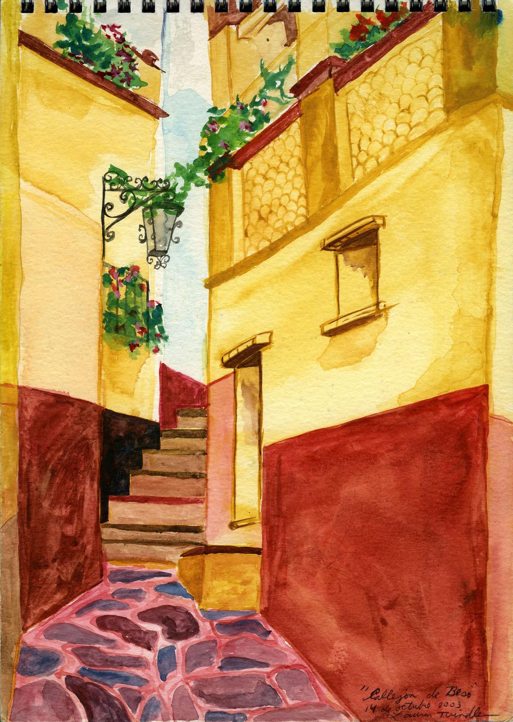 """Oct. 14, 2003 """"Callejón de Besos"""" (Alley of Kisses)"""