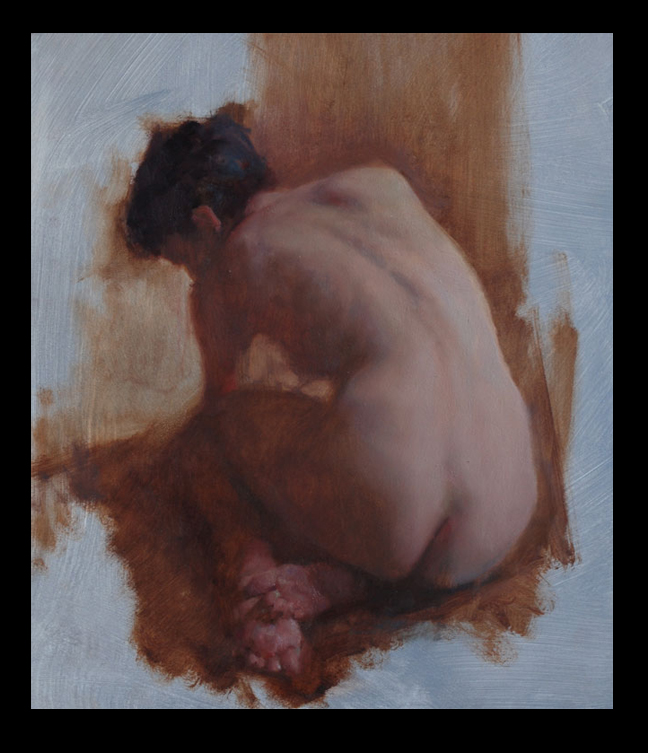"""""""Molly"""" by Stephen Early (oil)"""