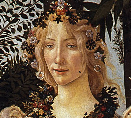 Flora, as Sandro painted her