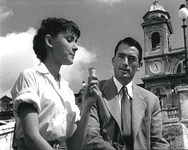 I bet painting in Italy will feel as amazing as eating gelato with Gregory Peck.  (Here's  one of my favorite clips  from  Roman Holiday .)