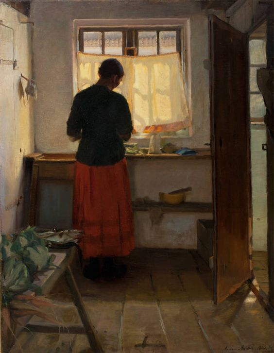 """The Maid in the Kitchen"" by Anna Archer"