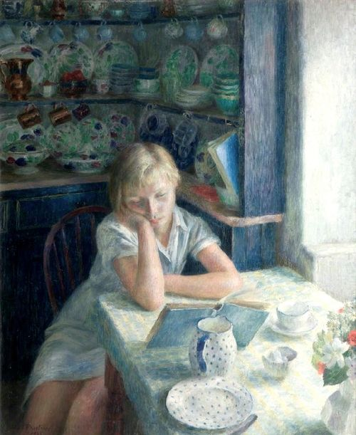 """The Quiet Hour"" by Dod Procter"