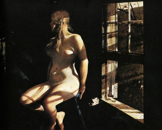 "one of Andrew Wyeth's ""Helga"" paintings"