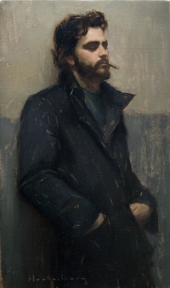 """Introspect"" oil on linen, by  Aaron Westerberg"