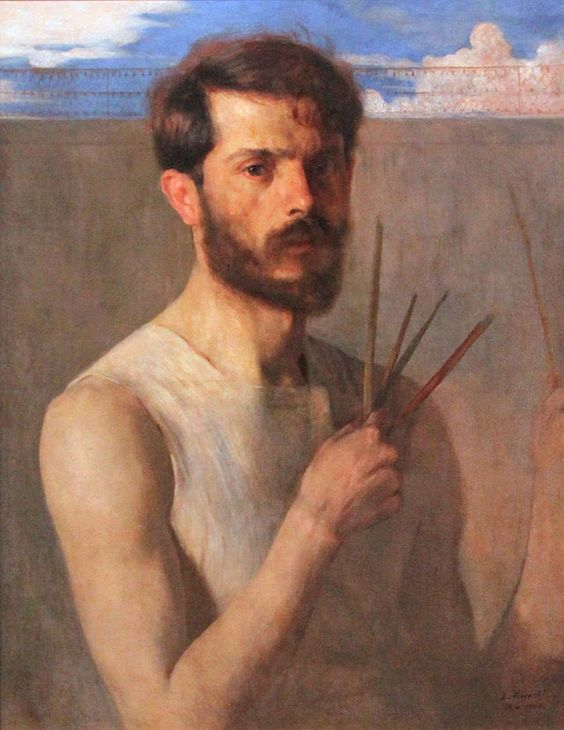 Self Portrait by  Eliseu Visconti , 1902
