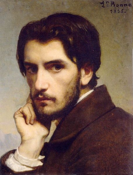 Self Portrait by  Leon Bonnat  1885