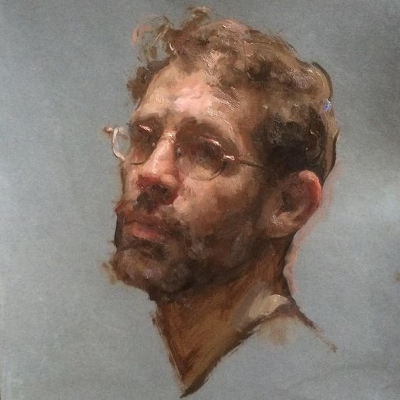 Self portrait by  Travis Schlaht
