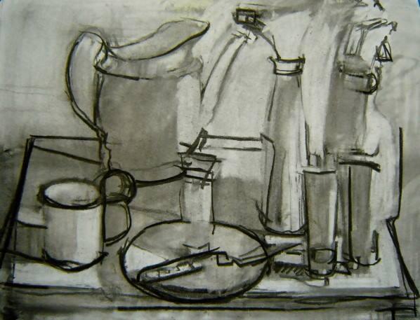 Sketch-in-progress by Scott Smith