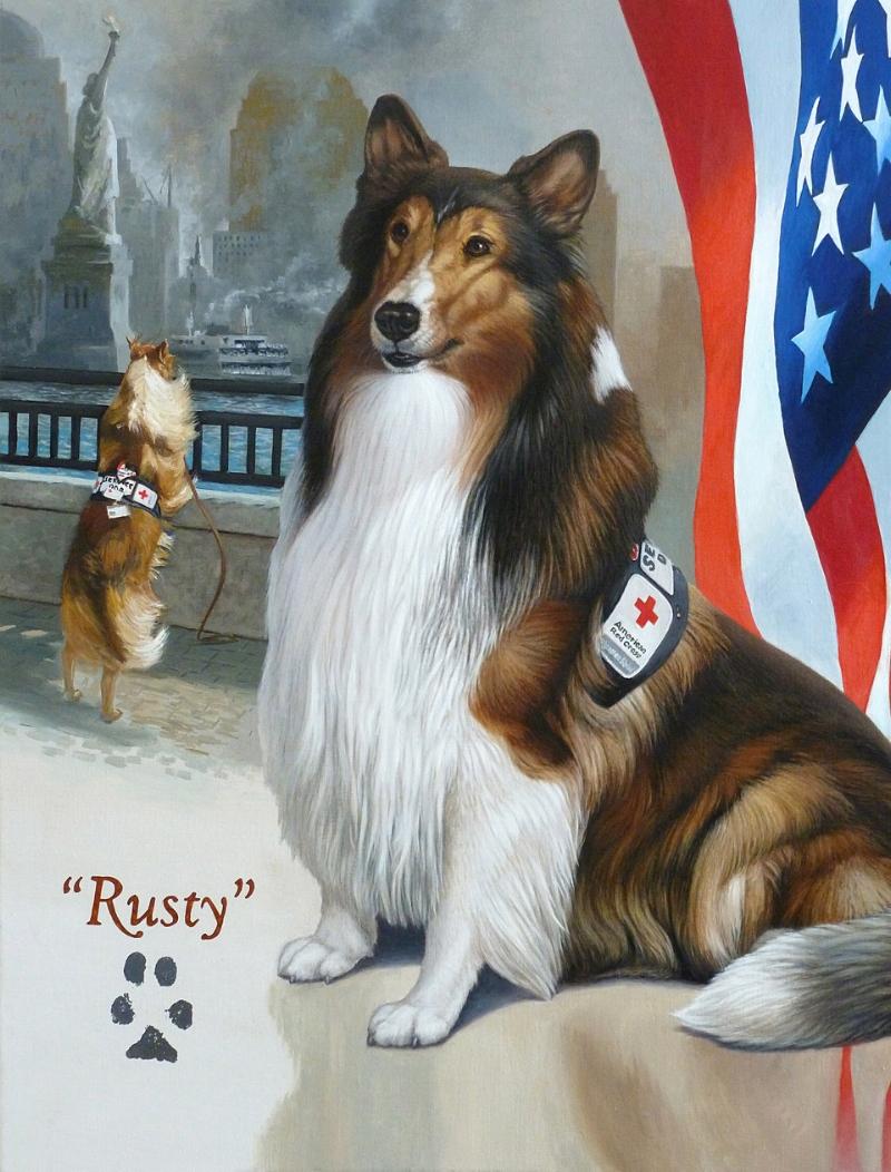 """""""Rusty"""" 24x30"""""""