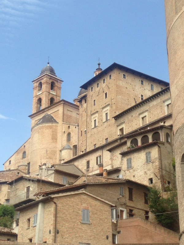 Breathtaking city of Urbino!